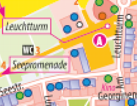 TIFF-Karten, JPG-Karten, Ortsplan erstellen, Stadtplan erstellen