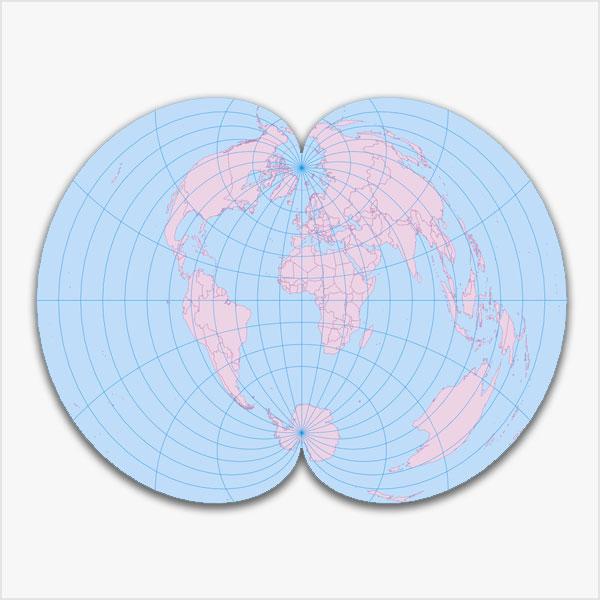 Weltkarten-Bundle Vektorkarten