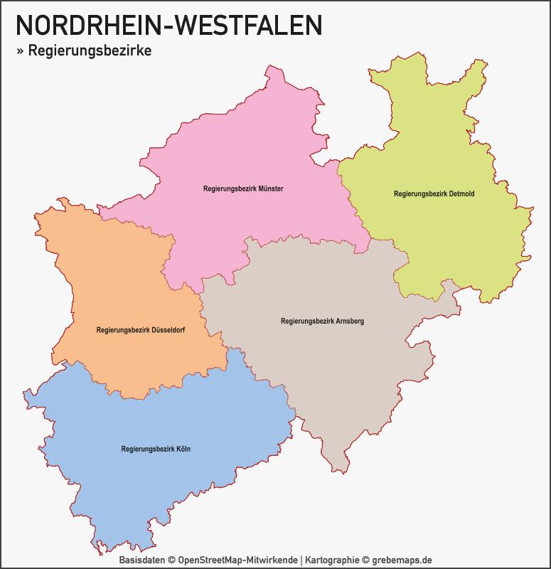 Nordrhein-Westfalen NRW Vektorkarte Landkreise Gemeinden PLZ-2-3-5, Karte PLZ NRW, Karte PLZ Nordrhein-Westfalen, Gemeindekarte NRW, Karte NRW, Postleizahlenkarte NRW, Karte Landkreise NRW, Karte Gemeinden NRW, Karte Vektor NRW PLZ