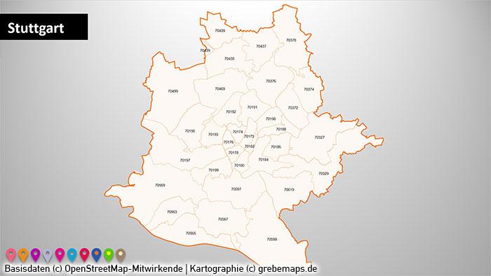 Region Stuttgart Postleitzahlen PLZ-5 PowerPoint-Karte (PLZ 5-stellig), Karte Region Stuttgart PLZ, PLZ-Karte Region Stuttgarte, Postleitzahlenkarte Region Stuttgart, Karte PLZ 5-stellig Region Stuttgart, Karte Metropole Stuttgart, Karte PLZ Stuttgarte Umgebung